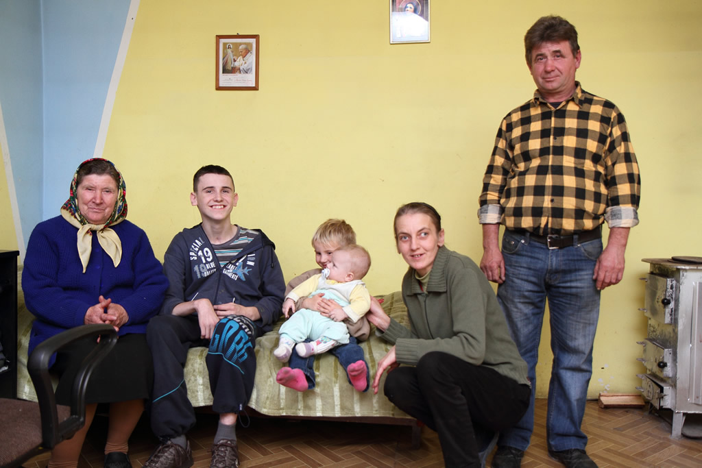 Poznajmy rodzinę Państwa Wiśniewskich z Bichniowa